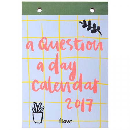 Scheurkalender 'A Question a Day 2017'