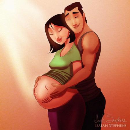 Mulan et Shang