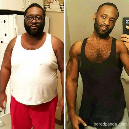 – 80 kilo op één jaar tijd