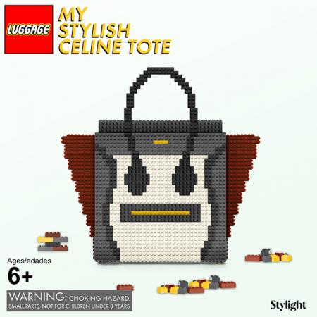 Handtas van Lego