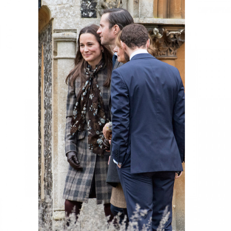 Pippa Middleton met verloofde James Matthews