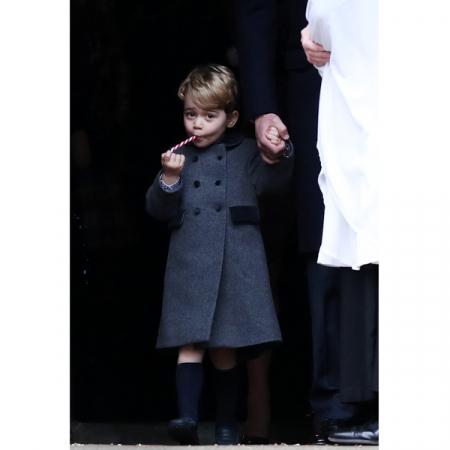 Prins George en zijn suikerstok …