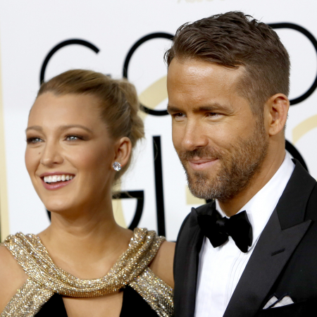 Blake Lively (29) & Ryan Reynolds (40)
