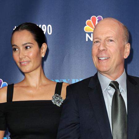 Emma Heming (38) & Bruce Willis (61)