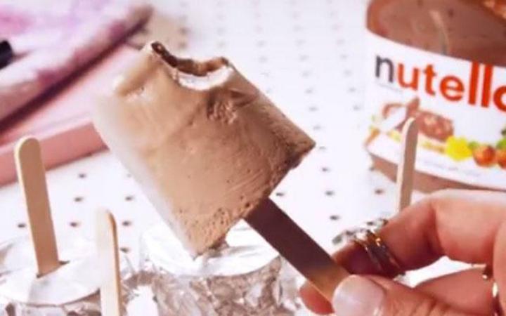 Nutella-ijsjes