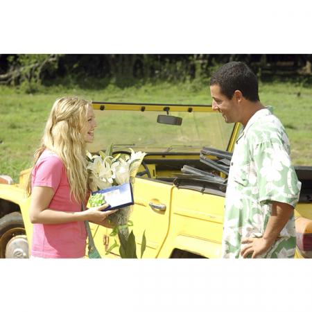 Drew Barrymore en Adam Sandler
