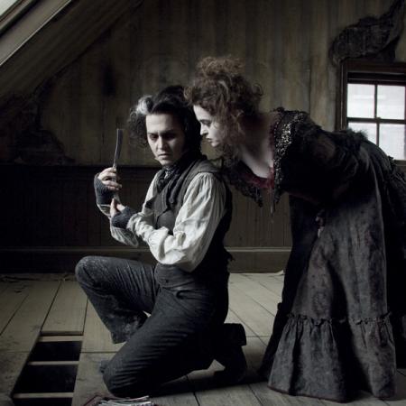 Johnny Depp en Helena Bonham Carter