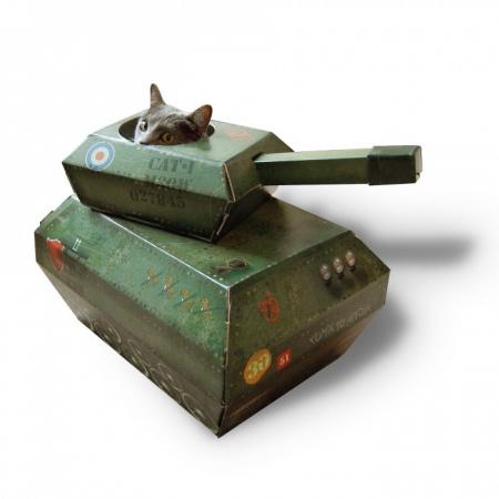 Aire de jeu tank BOOM