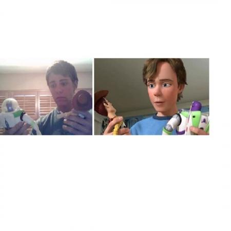 Disneypersonages en hun dubbelganger