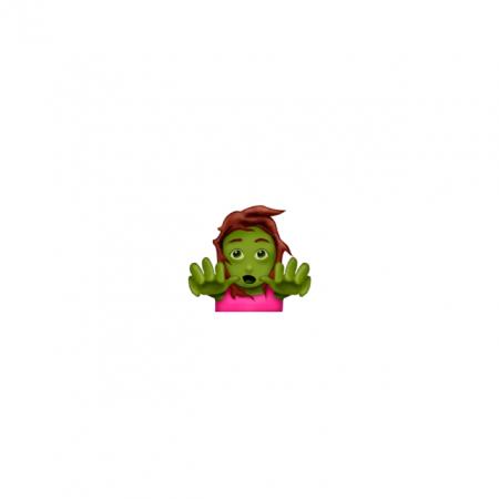 Vrouwelijke zombie