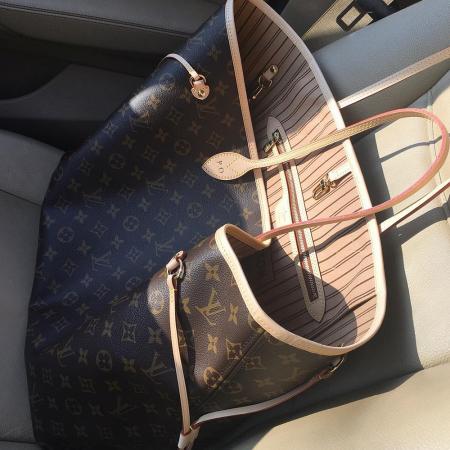 9. Louis Vuitton, Neverfull
