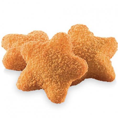Star McNuggets met kaas