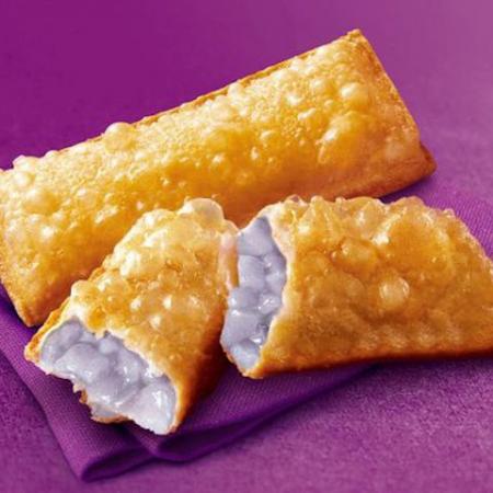 Taro Pie (gevuld met een tropische Aziatische plant)
