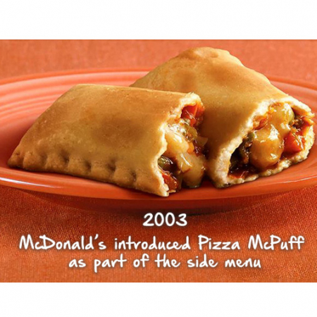 Pizza McPuff