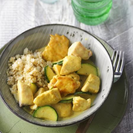 Donderdag: kalkoencurry met couscous
