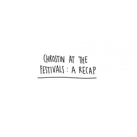 Chrostin at the festivals
