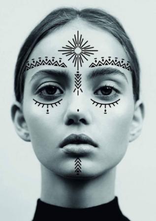 Face tattoos WECANDANCE