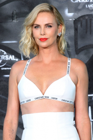 7. Charlize Theron (42)