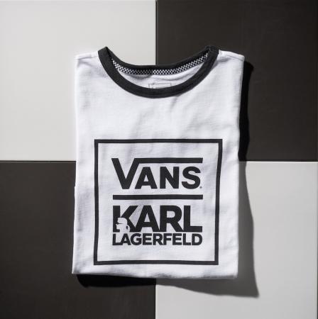 Vans xKarl Lagerfeld Tee