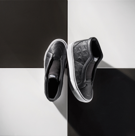 Vans xKarl Lagerfeld SK8-Hi Laceless Platform