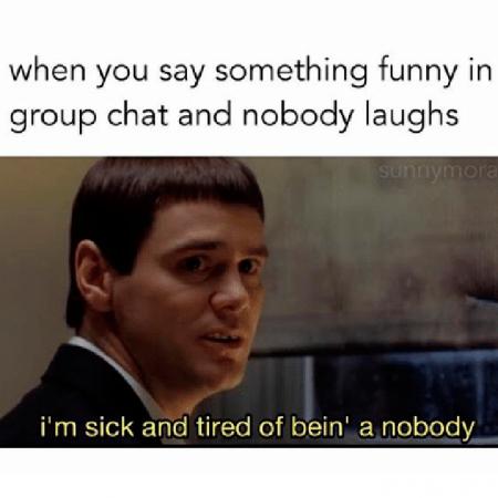Wanneer niemand om je mopje lacht…