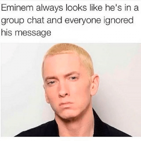 Wanneer je een beetje op Eminem lijkt…