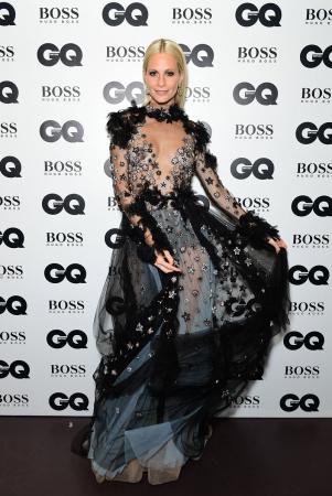 Model en actrice Poppy Delevingne, zus van Cara