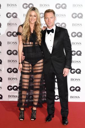 Zanger Ronan Keating en zijn vrouw Storm