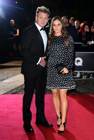 Topchef Gordon Ramsay met zijn dochter Holly