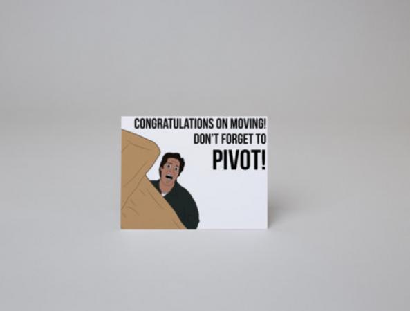 Het grappigste verhuiskaartje ooit. Etsy – 3,48 euro