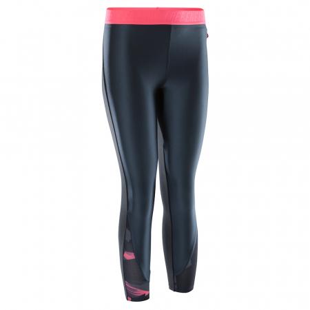 Domyos Gamme 500 – legging noir avec bande rose