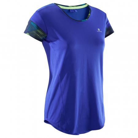Domyos Gamme 500 –t-shirt bleu et jaune