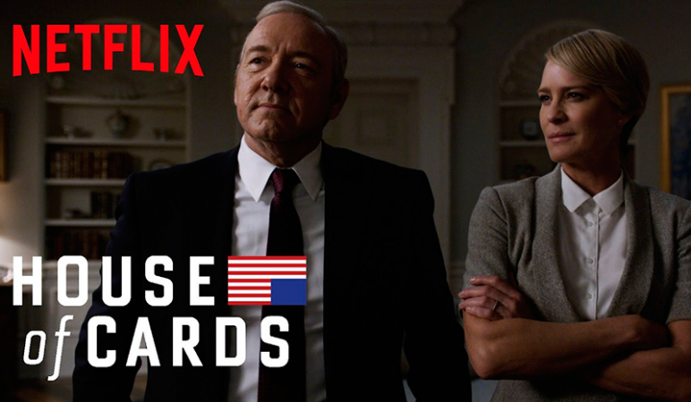 Aangeraden door eindredactrice Kaat: 'House of Cards'