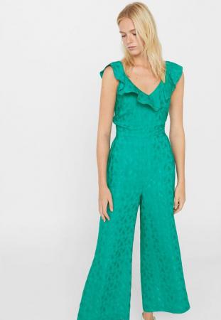 4. Ik zal een volledige outfit in één kleur dragen