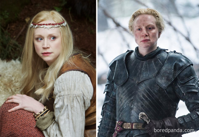 Gwendoline Christie in 'Wizards Vs. Aliens' en als Brienne Of Tarth