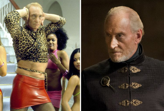 Charles Dance in 'Ali G Indahouse' en als Tywin Lannister