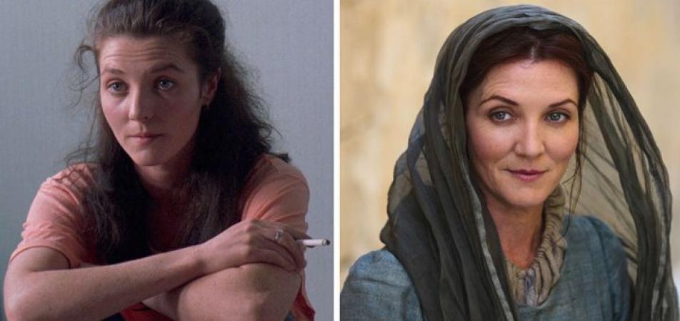 Michelle Fairley in 'Hidden Agenda' en als Catelyn Stark