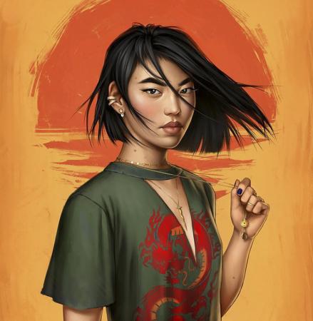 De moderne Mulan.