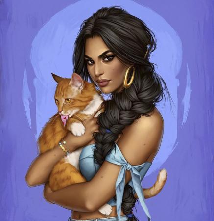 De moderne Jasmine.