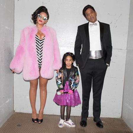 Blue Ivy, het dochtertje van Beyoncé en Jay-Z