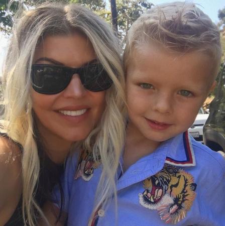 Axl, het zoontje van Fergie en Josh Duhamel