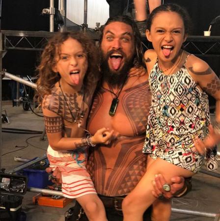Lola Iolani en Nakoa-Wolf Manakauapo, de kinderen van 'Khal Drogo' Jason Momoa en Lisa Bonet
