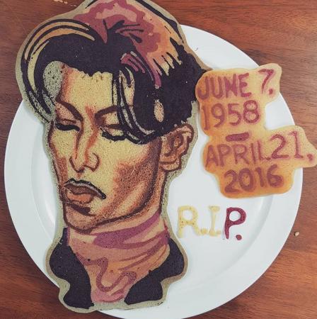 Een eerbetoon aan Prince.