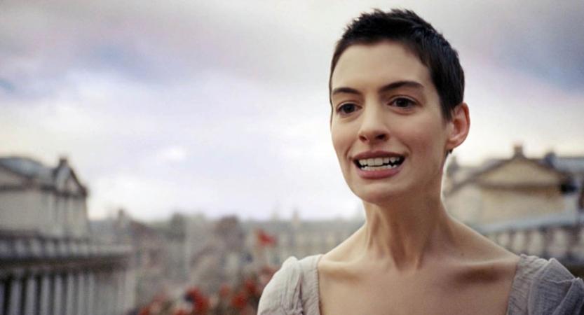 Anne Hathaway voor 'Les Misérables'