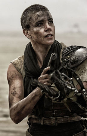 Charlize Theron voor 'Mad Max: Fury Road'
