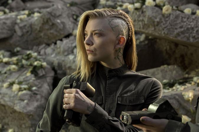 Natalie Dormer voor 'The Hunger Games: Mockingjay – Part 1'