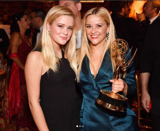 Reese Witherspoon en haar dochter Ava