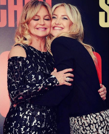 Goldie Hawn en haar dochter Kate Hudson