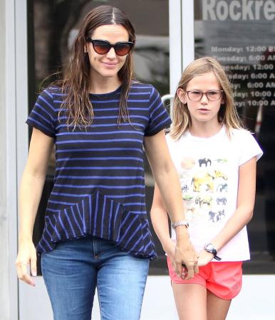 Jennifer Garner en haar dochter Violet