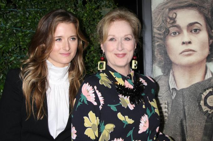 Meryl Streep en haar dochter Grace
